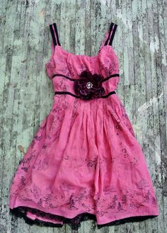 WOW!!! How beautiful is this!??    Spring French country Garden Party Dress = TrueRebelClothing