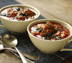 MyPanera Recipe: A Country Bread and Tomato Soup with Mashed Basil Oil