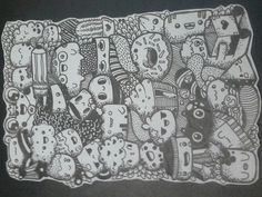 Doodle #Black Hope everyone like it! Thanks for Zainab Khan a.k.a. Piccandle for doodling tips!