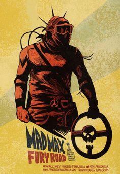 MAD MAX FURY ROAD - Francesco Francavilla