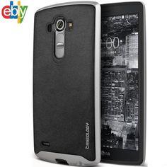 Luxury LG G4 Phone Case Cover Hard Skin Armor Hybrid Rugged Shockproof Rubber #Caseology