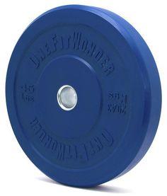 FitnessSanctum.com  Color CrossFit Bumper Plates from Fringesport--10lbs to 55lbs.---$65 to $240-- (fitnessssanctum.com...)