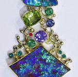 """""""The Heart of the Matter"""" Boulder Opal Pendant"""