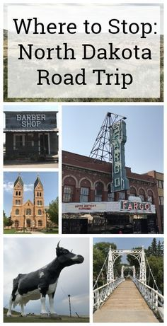 Take a North Dakota road trip. Here's where to stop as you cross the state on There are a lot of fun things to do in North Dakota. As you cross the state on here's where to stop for history, nature and roadside attractions. Us Road Trip, Family Road Trips, Road Trip Hacks, Travel With Kids, Family Travel, Dakota Do Norte, North And South, South America Map, Road Trip Destinations