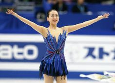 Mao Asada, 3-Time World Figure Skating Champion   She lost her mother, placed 6th at Sochi but like the Phoenix she's risen again and soaring high!