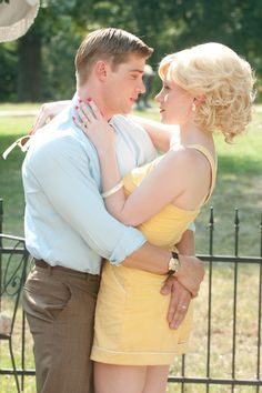 Johnny Foote (Mike Vogel), Celia Foote (Jessica Chastain) ~ The Help (2011) ~ Movie Stills #amusementphile
