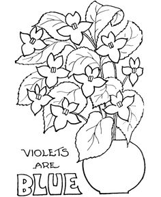 flower Page Printable Coloring Sheets | ... color Valentine flower coloring pages to be given to their parents or