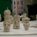Pinch, Poke, & Prod Clay Faces