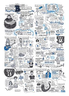 Brooklyn Beta 2012 – All sketchnotes in one by evalottchen, via Flickr