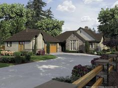 New American House Plan with 2890 Square Feet and 2 Bedrooms from Dream Home Source | House Plan Code DHSW67356