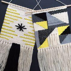 Woven Wall Hanging Kurt Vonnegut Weaving by UnrulyEdges on Etsy Weaving Textiles, Weaving Art, Loom Weaving, Tapestry Weaving, Wall Tapestry, Hand Weaving, Weaving Wall Hanging, Hanging Art, Diy Art Projects Canvas