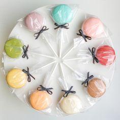 Macaron Pops   Rattles
