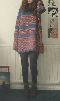 I cute indie outfit Indie Fashion, Look Fashion, Fashion Outfits, Fall Fashion, Looks Style, Style Me, Teenager Fashion Trends, Mode Grunge, Hipster