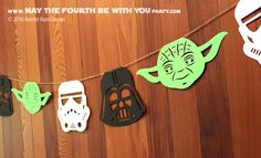 lots of cool star wars party ideas and crafts.  cool site