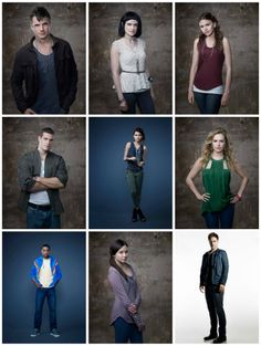 Star Crossed cast. Another good show that only lasted one season