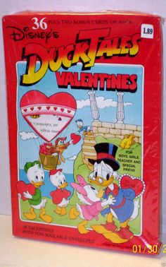Even Uncle Scrooge can't resist a cute Valentine's Day card. | 28 Valentine's Day Cards You Haven't Seen Since The '90s