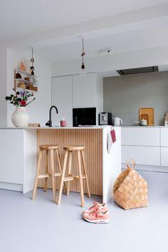 My Kitchen Rules, New Kitchen, Kitchen Dining, Kitchen Decor, Ikea Kitchen Design, Kitchen Interior, Beautiful Kitchens, Cool Kitchens, White Floorboards