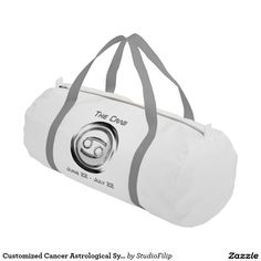 Customized Cancer Astrological Symbol Gym Bag