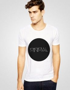 Minimal 2 T-shirt T Shirty, Man Fashion, Minimalism, Mens Tops, Shopping, Moda Masculina, Fashion Men, Men's Fashion Styles, Men's Fashion