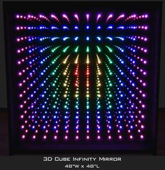 Infinity Mirror Displays and Infinity Mirror Tables Infinity Mirror Table, Mirror Panels, Mirrors, Infinity Lights, Two Way Mirror, Tank Stand, Convex Mirror, Chasing Lights, Acrylic Mirror