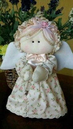Christmas Angels, Christmas Crafts, Christmas Ornaments, Felt Crafts, Fabric Crafts, Angel Crafts, Angel Ornaments, Sewing Toys, Soft Dolls