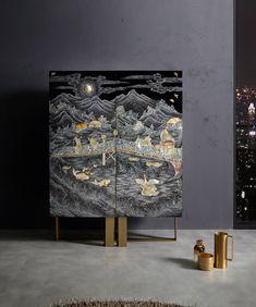 Third slide Dream Furniture, Steel Furniture, Sofa Furniture, Furniture Design, Cabinet Decor, Cabinet Furniture, Chinese Interior, Master Bedroom Interior, My Ideal Home