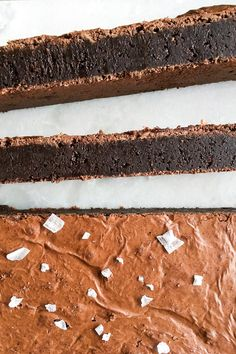 Sweet Recipes, Cake Recipes, Dessert Recipes, Danish Dessert, Best Brownies, Brownie Bar, Chocolate Lovers, Cravings, Sweet Tooth