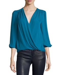 Alice + Olivia Arleen silk blouse NMS16_TCT0A