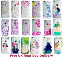 iPhone Clear Mobile Phone Case Cover Clear TPU Silicone for Apple iPhone 5 and 6 iPhone SE ✔ Compatible Device= iPhone 5 5s, iPhone 6/6s iPhone SE ✔ Brand New item ✔ Price=£2.99 ✔ Free UK Next Day Delivery ✈ World wide Shipping with Royal mail Delivery