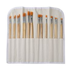 Long Handle Gold Synthetic Paintbrush Set By Artist's Loft® Painting Accessories, Artist Loft, Happy Birthday Gifts, Flat Brush, Michael Store, Paint Brushes, Custom Framing, Handle, Tableware