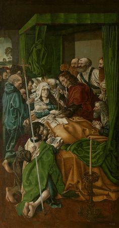 """""""El Tránsito de la Virgen"""", Maestro de la Sisla (ca.1500)"""