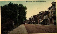Antwerpen-Kiel - Sint-Bernardsesteenweg Old Pictures, Belgium, Street View, 1960s, Retro, Kiel, Nostalgia, Antique Photos, Old Photos