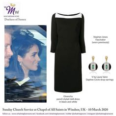 Meghan Is Pretty in Preen for Queen's Commonwealth Trust Engagement Estilo Meghan Markle, Meghan Markle Style, Princess Meghan, Prince Harry And Meghan, Stephen Jones, Prinz Harry, Royal Life, Royal Engagement, Royal Fashion