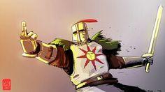 Knight Solaire, Dark Souls