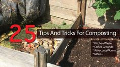 25 Tips And Tricks For Composting