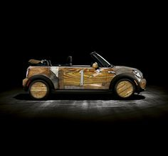 Cool Hunter - Mini Cooper on the Behance Network. Interesting. I can't tell if I like this or not..... :/