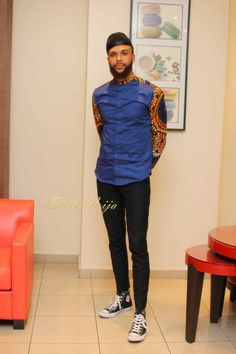 If you're on a search for Nigerian Ankara styles for men that will turn you into a best-dressed man anywhere you go,you are on the site,Cos we have the latest and most elegant Ankara styles for men that will give you that great look you desire. Couples African Outfits, African Clothing For Men, African Shirts, African Attire, African Wear, African Dress, Nigerian Men Fashion, African Print Fashion, Ethnic Fashion