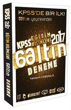2017 KPSS Eğitim Bilimleri Tamamı Çözümlü 6 Altın Deneme Benim Hocam Yayınları