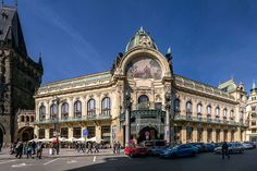 Jugendstil Prag Gemeindehaus 1 - Jugendstil – Wikipedia