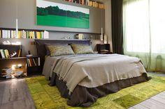 Dormitorios con grandes ventanales