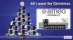 All I want for Christmas is Ameo Essential Oils http://clinicalgradeessentialoils.myameo.com