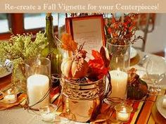 fall leaves and white lights for decorations - Google Search