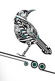 Tui Kainga by Shane Hansen for Sale - New Zealand Art Prints Maori Maori Tattoo Frau, Ta Moko Tattoo, Doodles Zentangles, Zentangle Patterns, Tui Bird, Maori Patterns, Bird Stencil, Stencil Art, Polynesian Art