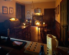 Bar room, Rise Hall, Yorkshire - Gallery