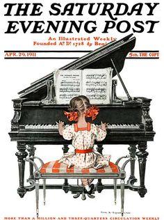 Saturday Evening Post, April 29, 1911 (Frank X. Leyendecker)