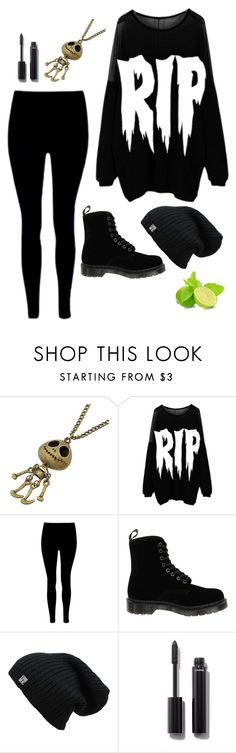 """Untitled #3299"" by if-i-were-famous1 ❤ liked on Polyvore featuring Chicnova Fashion, Nikki Lipstick, Dr. Martens and Chanel"
