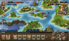Sky Oceans is a role-playing (RPG), social game, massively multiplayer online (MMO), free to play on Facebook, from Tyler Projects.