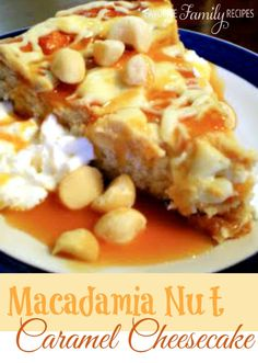 This White Chocolate Caramel Maca-Nut Cheesecake tastes just like The Cheesecake Factory version! #cheesecakerecipe #macademianutrecipe #cheesecake