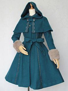Victorian Maiden coat (want it please please please)