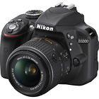 Nikon D3300 24.2MP 1080p Digital SLR Camera w/ 18-55mm VR II Lens - Choose Color